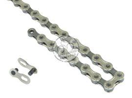 FORCE/PYC P9002 kerékpár lánc 9 seb. ezüst/sötét